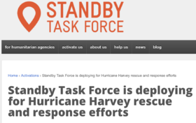 Crowdsourced, Voluntary Response to Hurricane Harvey